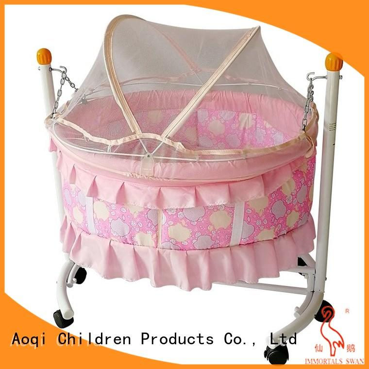 Aoqi wooden cheap baby cots for sale from China for babys room