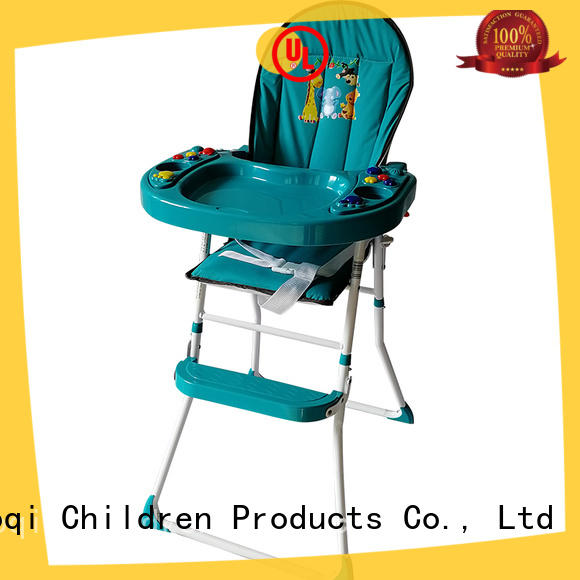 Aoqi dining foldable baby high chair manufacturer for infant