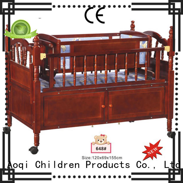 baby basket high quality baby cots and cribs Aoqi Brand