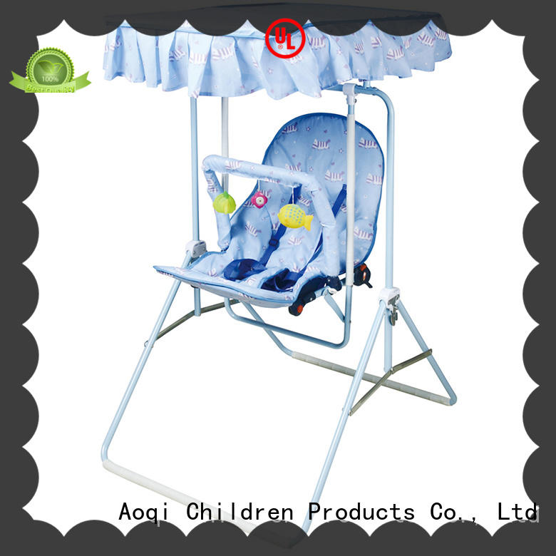 Aoqi upright baby swing design for babys room