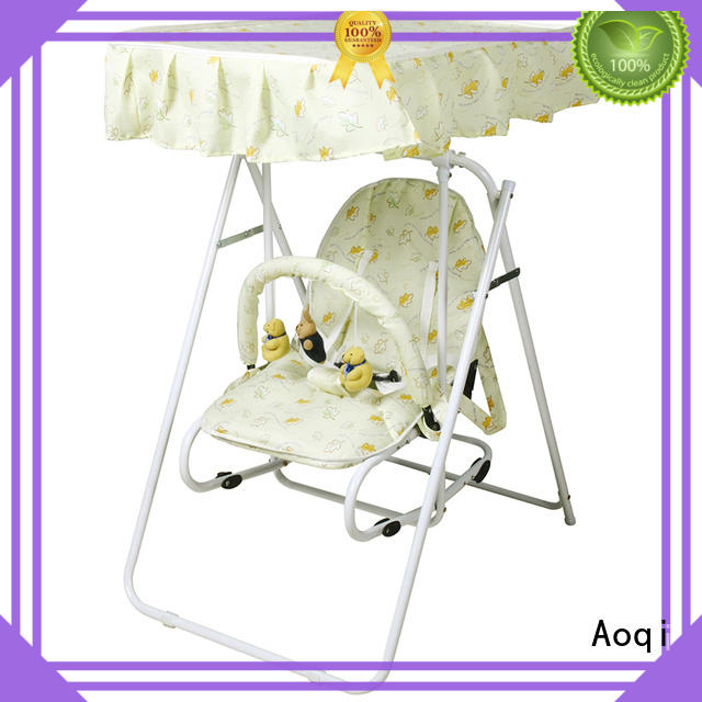 Aoqi durable cheap baby swings for sale with good price for household