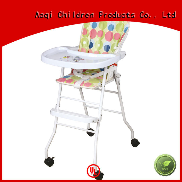 metal hot sale multi-colors high chair price Aoqi Brand