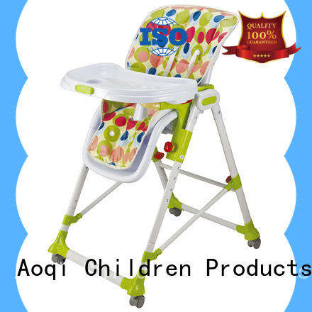 Aoqi plastic cheap baby high chair series for infant