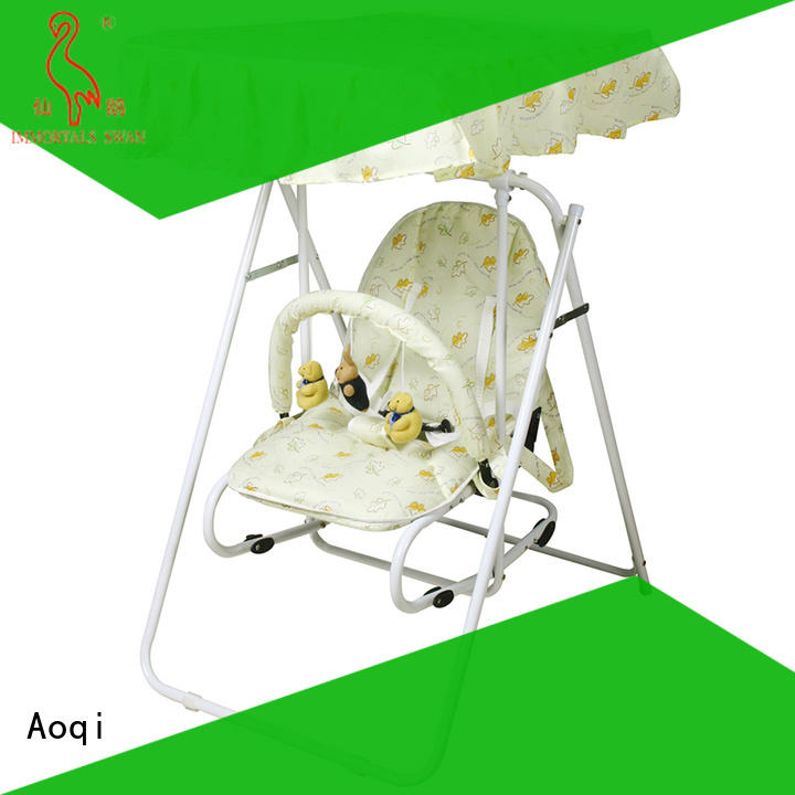 Aoqi multifunctional buy baby swing design for kids