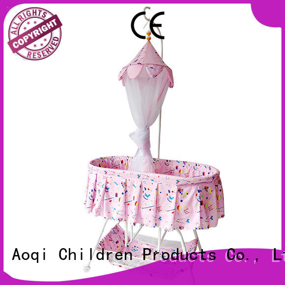 Aoqi baby cradle bed with cradle for bedroom