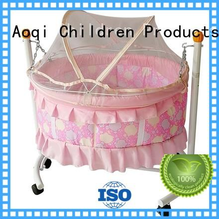 baby cots and cribs transformable kids inside Aoqi Brand company