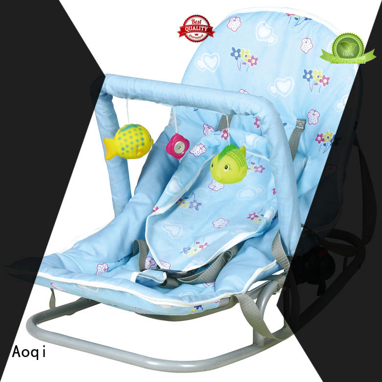 Aoqi simple neutral baby bouncer supplier for home
