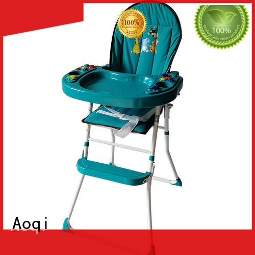 Aoqi dining feeding high chair directly sale for infant