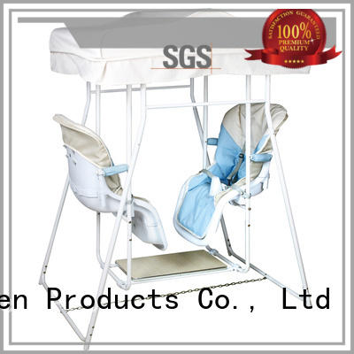 Aoqi upright baby swing with good price for babys room