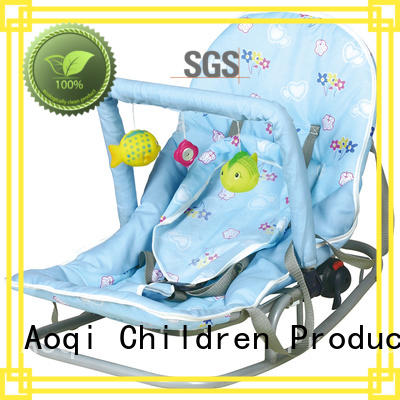 simple comfortable baby bouncer and rocker play rest Aoqi company