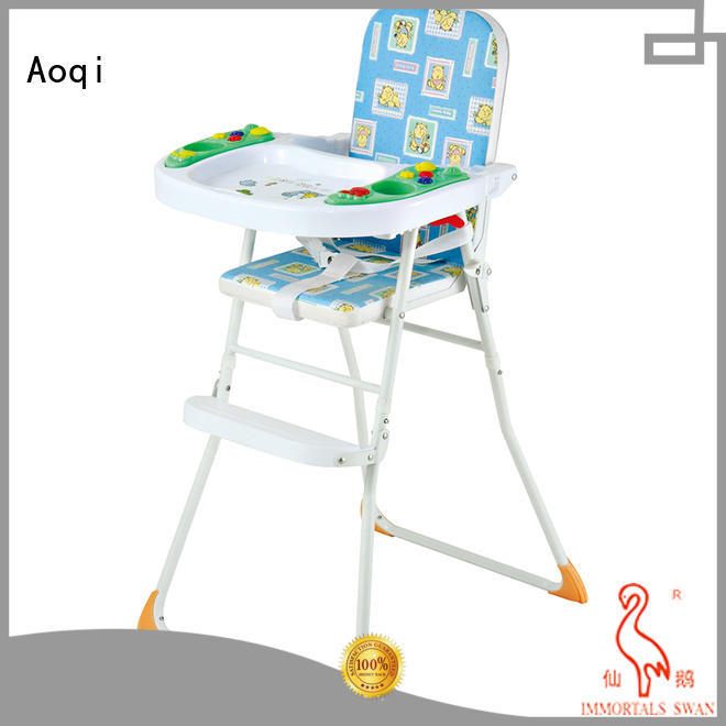 eating baby multifunctional child high chair Aoqi Brand company