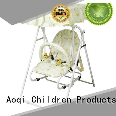 Wholesale swing baby swing chair online Aoqi Brand