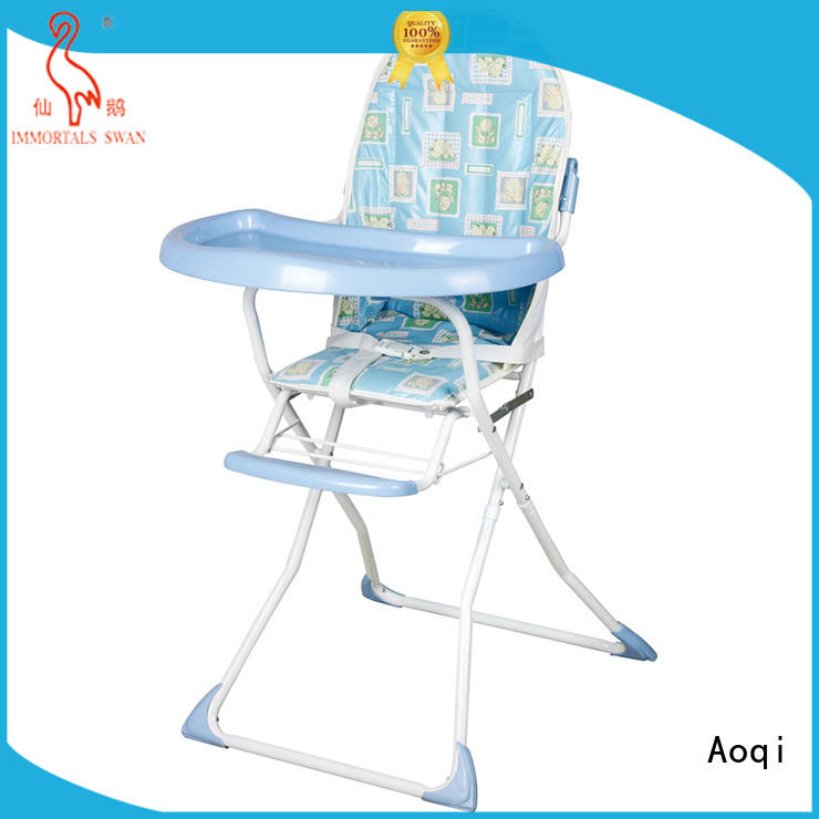 Aoqi folding baby high chair customized for infant