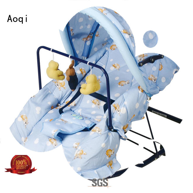 Quality Aoqi Brand baby rocking chairs for sale comfortable
