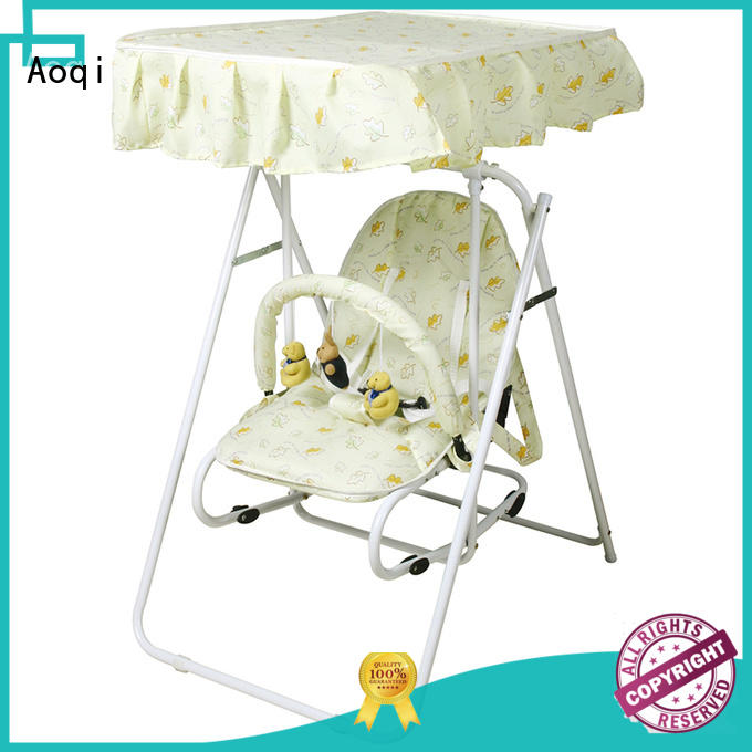 Aoqi double seat baby swing price design for household