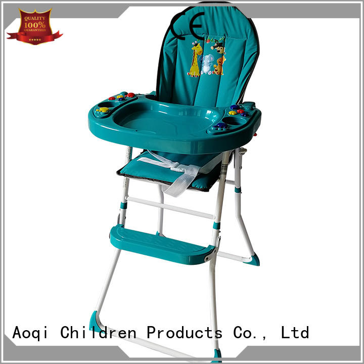 dining child high chair hot sale multi-colors Aoqi company