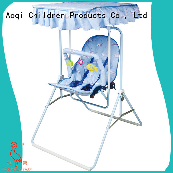 Aoqi baby musical swing chair factory for kids