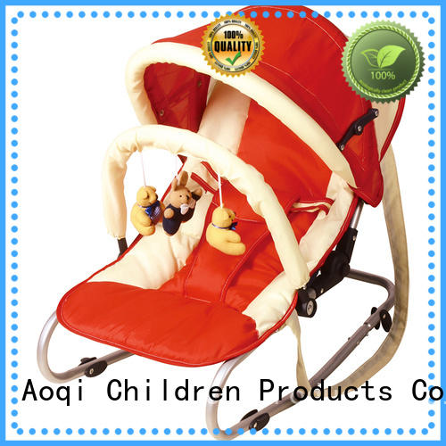 comfortable baby bouncer and rocker canopy Aoqi company