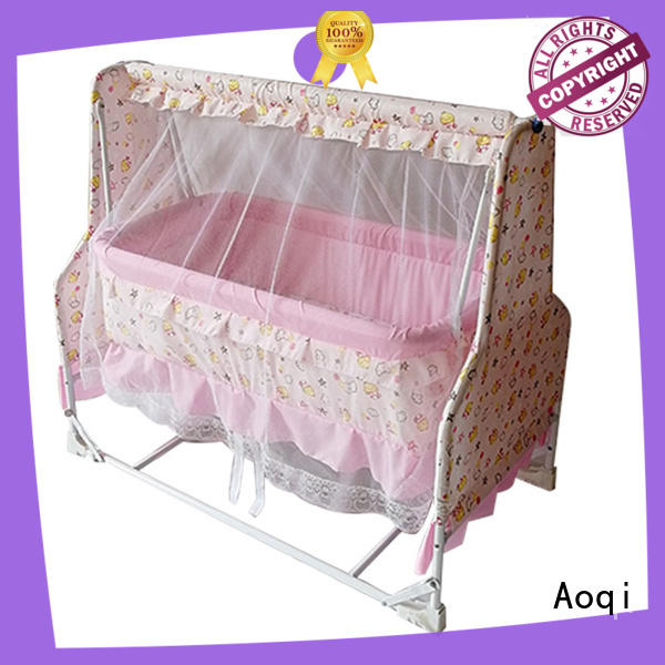 Aoqi transformable baby sleeping cradle swing series for babys room