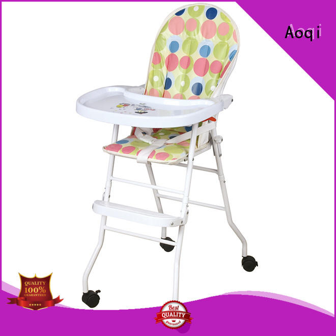 plastic baby high chair brands manufacturer for livingroom Aoqi