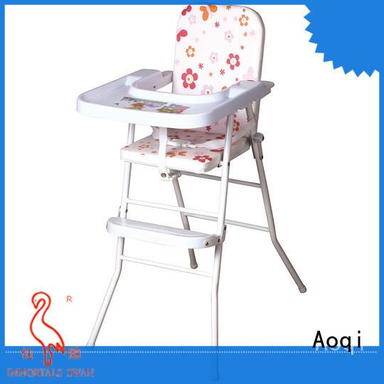 Aoqi baby feeding high chair customized for infant