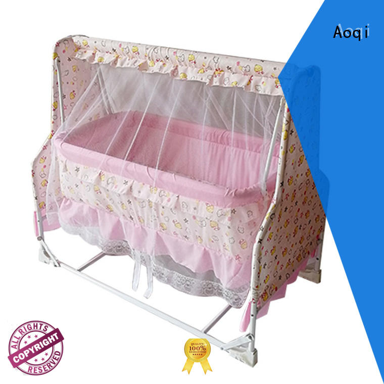 baby swing bed online electric for household Aoqi