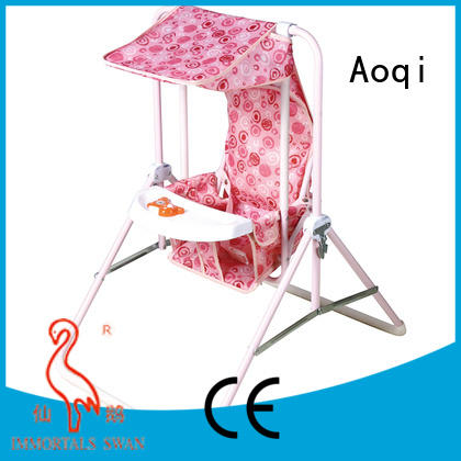 ic high quality toys OEM cheap baby swings for sale Aoqi