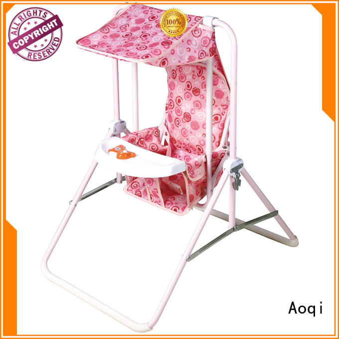 Wholesale foldable baby swing chair online Aoqi Brand