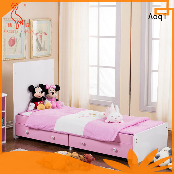 round shape baby bed with drawers with cradle for household