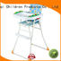 Aoqi Brand multi-colors portable high chair price metal