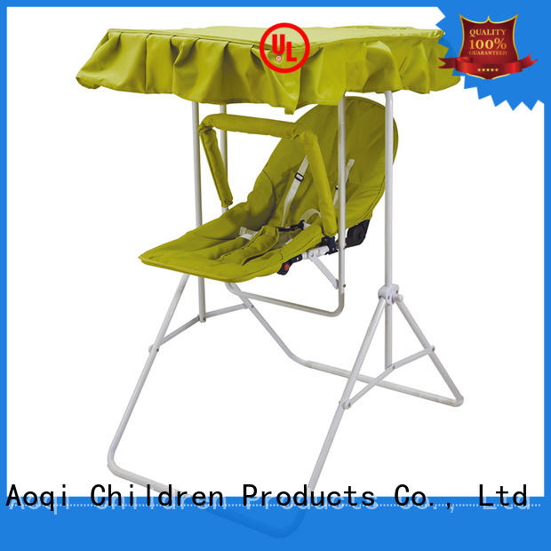 Aoqi double seat babies swing factory for household