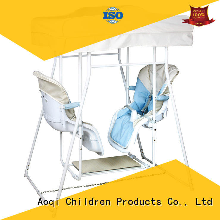 Aoqi hot selling buy baby swing with good price for kids