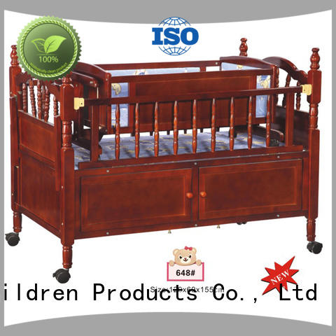 Aoqi cheap baby cots for sale manufacturer for babys room