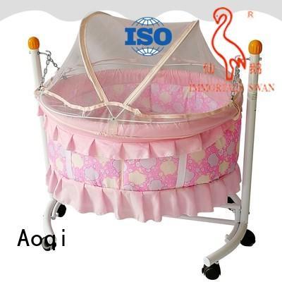 braking baby cot price electric for kids Aoqi