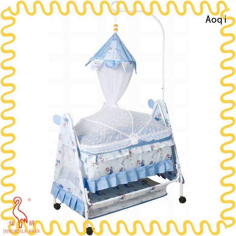 Aoqi baby sleeping cradle swing customized for bedroom