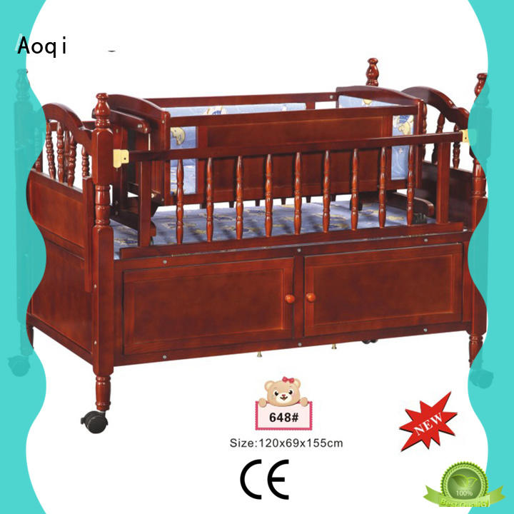 baby cradle bed customized for babys room Aoqi