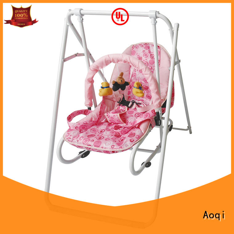 Aoqi multifunctional newborn baby swing chair for babys room