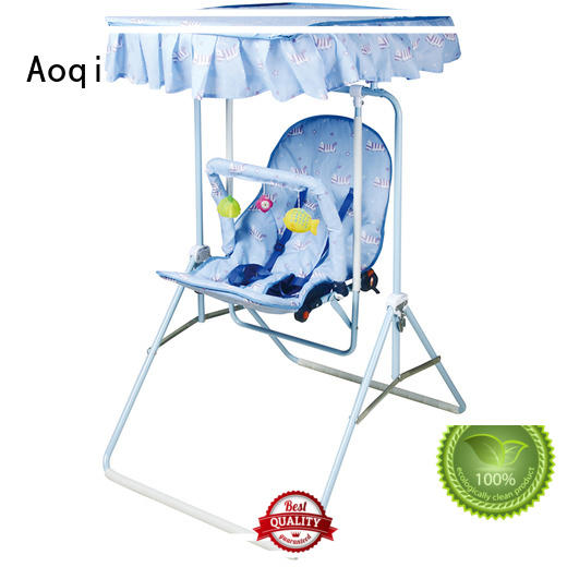 Quality Aoqi Brand tray wholesale cheap baby swings for sale