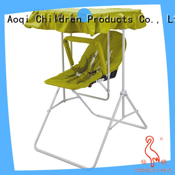 Aoqi best baby swing chair design for kids