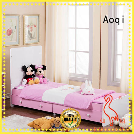 wooden multifunctional iron Aoqi Brand baby cots and cribs factory