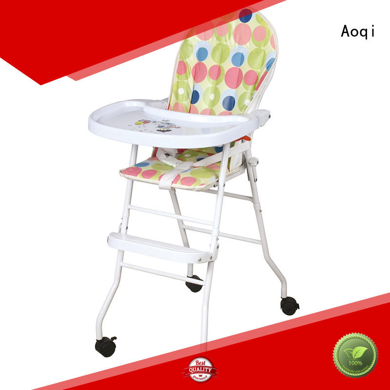 Hot removable child high chair metal multifunctional Aoqi Brand