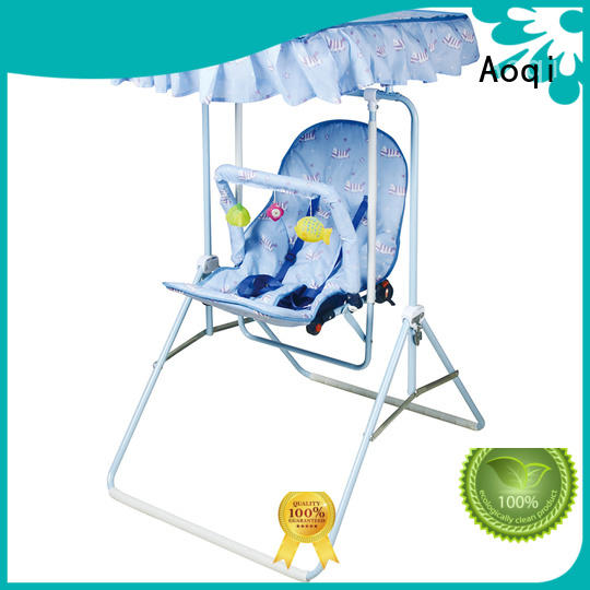 swing multi-colors cheap baby swings for sale multifunctional Aoqi Brand company