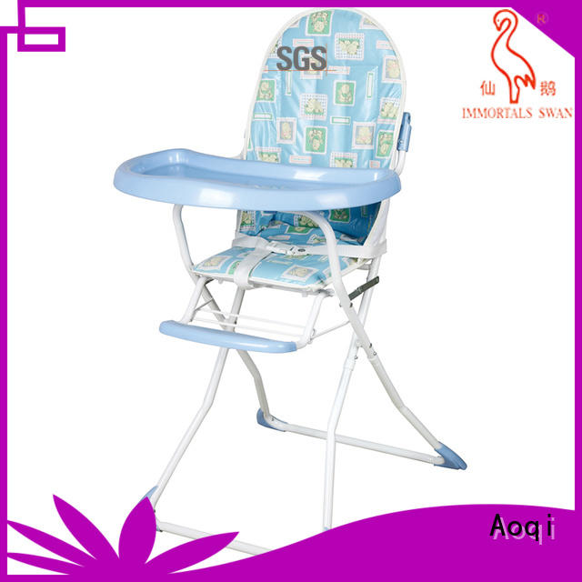 Aoqi Brand high quality dining removable child high chair manufacture