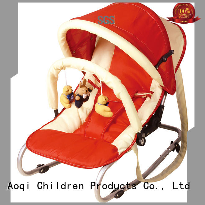 stable foldable baby rocking chairs for sale Aoqi Brand