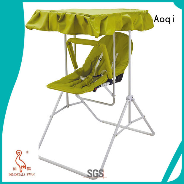toys portable Aoqi Brand baby swing chair online factory