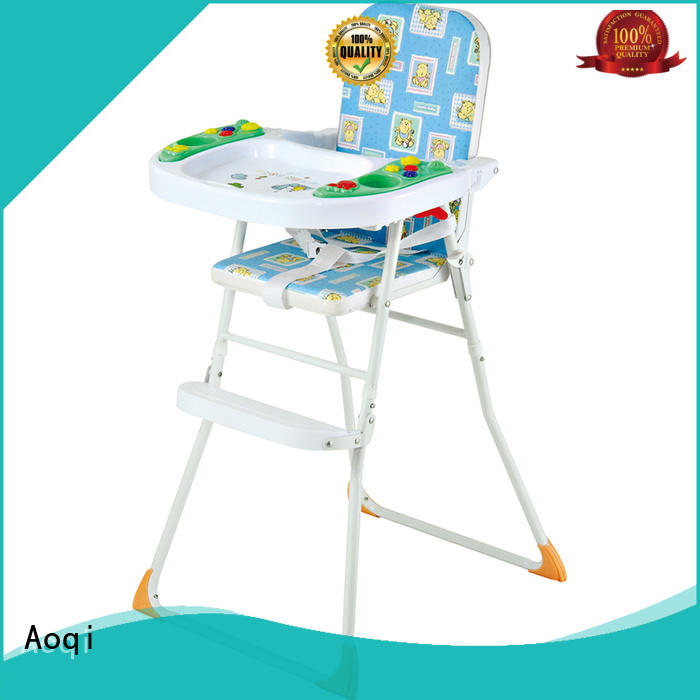Aoqi special baby high chair low price directly sale for infant
