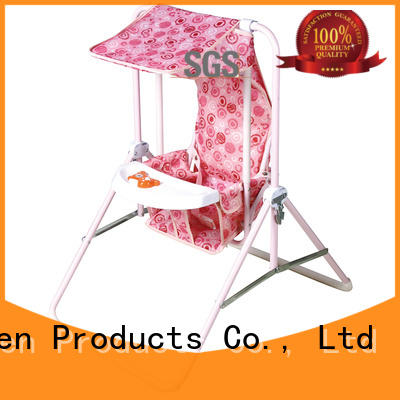 upright baby swing with good price for babys room Aoqi