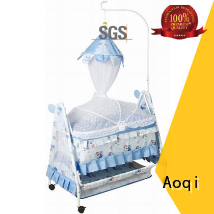 Aoqi wooden baby sleeping cradle swing series for bedroom
