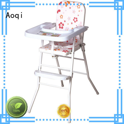 Aoqi foldable high chair for baby price manufacturer for livingroom