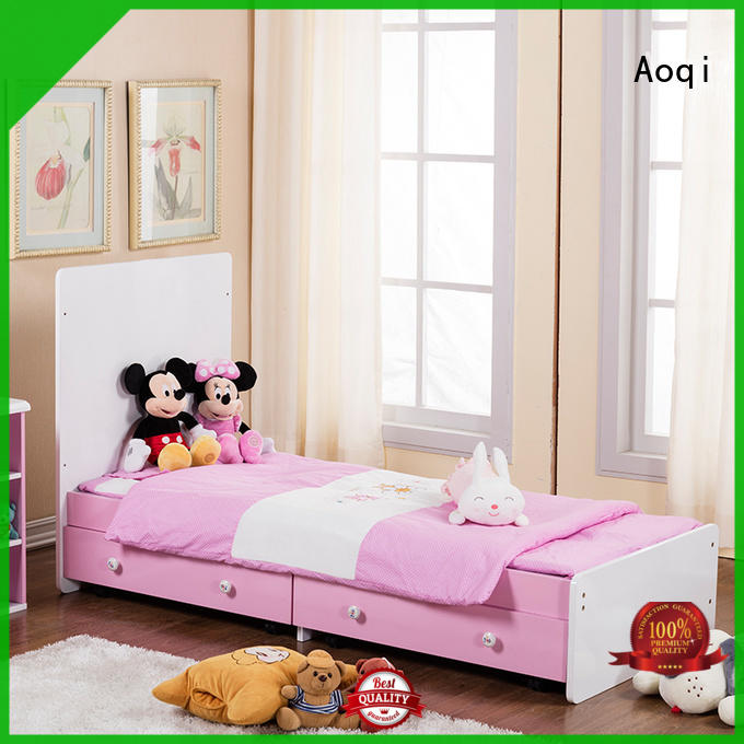 Aoqi baby crib price with cradle for household